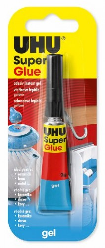 UHU Super Glue Gel 2 g Jumbo Card
