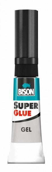 BISON SUPER GLUE GEL 3 g
