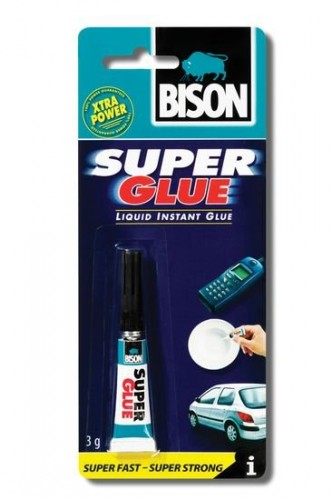 BISON SUPER GLUE LIQUID 3 g