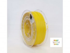 ASA filament yellow 1,75 mm Print With Smile 0,85kg