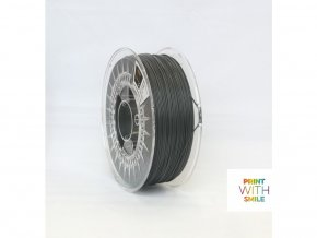 ASA filament dark grey 1,75 mm Print With Smile 0,85kg