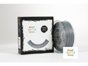 ASA filament Silver Shine 1,75 mm Print With Smile 0,85kg