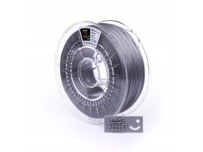 PET-G filament silver 1,75 mm Print With Smile 1kg
