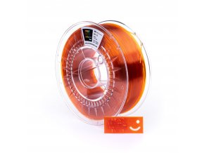 PET-G filament Orange glass 1,75 mm Print With Smile 1kg