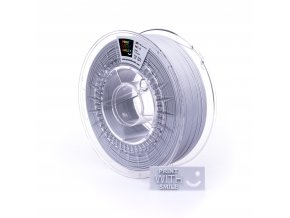 PET-G filament Light Grey 1,75 mm Print With Smile 1kg