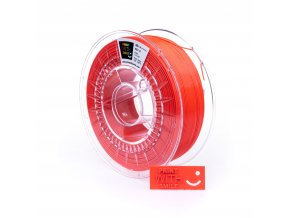 PET-G filament Neon Red 1,75 mm Print With Smile 1kg